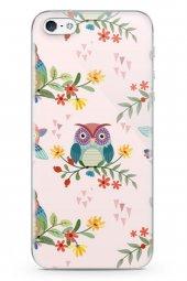 Apple İphone 5 Kılıf Owl Serisi Amy