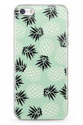 Apple iPhone SE Kılıf Pineapple Serisi Savannah