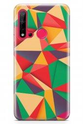 Huawei Nova 5i Kılıf Triangle Serisi Maggie