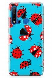 Huawei P20 Lite 2019 Kılıf Ladybug Serisi Eden