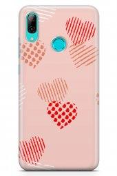 Huawei Y7 2019 Kılıf Love Serisi Sand Pink