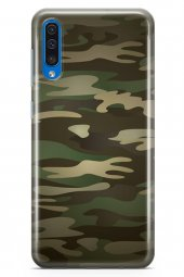 Samsung Galaxy A30s Kılıf Kamuflaj Serisi Chloe