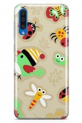 Samsung Galaxy A30s Kılıf Ladybug Serisi Rose