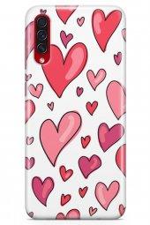 Samsung Galaxy A70s Kılıf Love Serisi Red