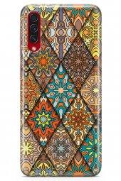 Samsung Galaxy A70s Kılıf Patchwork Serisi Alina