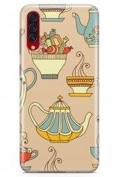 Samsung Galaxy A70s Kılıf Tea Time Serisi Dakota