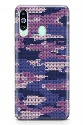 Samsung Galaxy M40 Kılıf Kamuflaj Serisi Mia
