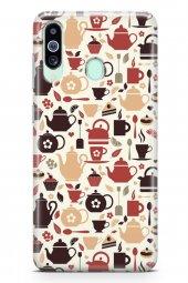 Samsung Galaxy M40 Kılıf Tea Time Serisi Jayla