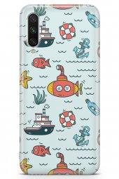 Xiaomi Mi A3 Kılıf Fishie Serisi Autumn
