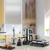 Aryıldız Mutfak Seti Elektrikli Çeyiz Seti Mania Serisi 4lü İnox