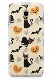 Samsung Galaxy J4 Plus Kılıf Halloween Serisi Clara