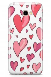 Samsung Galaxy J4 Plus Kılıf Love Serisi Red