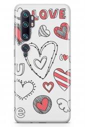 Xiaomi Mi Note 10 Kılıf Love Serisi Big