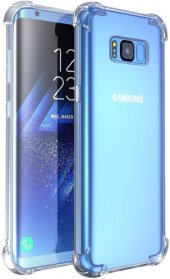 Galaxy S8 Plus Kılıf Köşe Korumalı Şeffaf