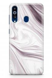 Samsung Galaxy A20s Kılıf Sweet Dreams Serisi Mor