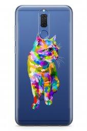 Huawei Mate 10 Lite Kılıf Şeffaf Wild Life Serisi Kali
