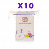 Baby Me Bebek Temizleme Pamuğu 10 X 60(600) Adet