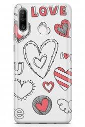 Huawei Nova 4e Kılıf Love Serisi Big