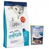 Happy Cat Sensitive Seefisch Tahılsız Balıklı...