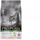 Kısırlaştırılmış Kediler İçin Pro Plan Somonlu Kedi Maması 10Kg Proplan