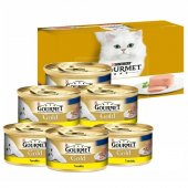 Gourmet Gold Kıyılmış Tavuklu Konserve Kedi...