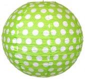 Fener Süs Yeşil Puantiyeli 30 Cm