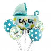 Baby Boy Folyo Balon Set