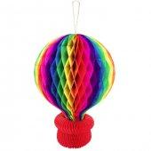 Uçan Balon Akordiyon Süs 56 Cm