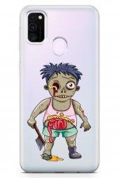 Samsung Galaxy M30s Kılıf Zombie Serisi Alani