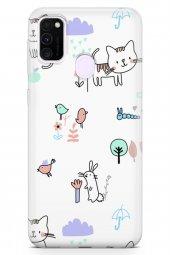 Samsung Galaxy M30s Kılıf Kitty Serisi Brianna-2