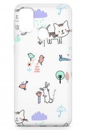 Samsung Galaxy M30s Kılıf Kitty Serisi Brianna-3