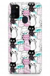 Samsung Galaxy M30s Kılıf Kitty Serisi Raelynn