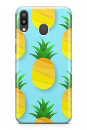 Samsung Galaxy M20 Kılıf Pineapple Serisi Brooklyn