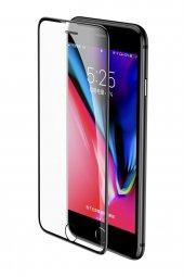 Baseus Anti Blue İphone 6 6s 7 8 Plus Ekran Koruyucu Kulaklık Toz Korumalı Siyah