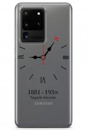 Samsung Galaxy S20 Ultra Kılıf Atatürk Serisi 10 Kasım