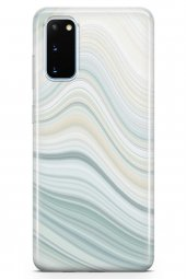 Samsung Galaxy S20 Kılıf Sweet Dreams Serisi Duman Mavi