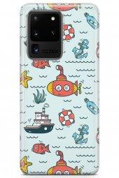 Samsung Galaxy S20 Ultra Kılıf Fishie Serisi Autumn