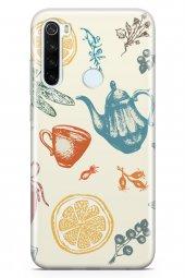 Xiaomi Redmi Note 8 Kılıf Tea Time Serisi Destiny