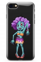 Apple iPhone 8 Kılıf Zombie Serisi Frances