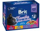 Yetişkin Kedilere Brit Konserve Yaş Kedi Maması 100gr 12adet
