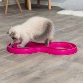 Trixie Kedi Oyuncak, Top Kovalama, 65cmx31cm Pembe