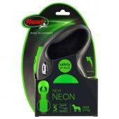 Flexi Neon Şerit Medium Yeşil 5 Metre Otomatik...
