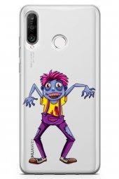 Huawei Nova 4e Kılıf Zombie Serisi Eve