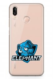 Huawei P20 Lite Kılıf Gamer Oyuncu Serisi Elle