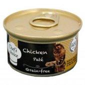 Chefs Choice Pate Tavuk Etli Tahılsız Kedi Konservesi 85g 24 Adet