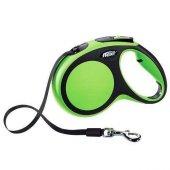 Flexi Şerit Otomatik Köpek Dolaştırma Tasması Xs Yeşil 3mt