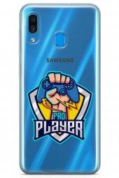 Samsung Galaxy A20 Kılıf Gamer Oyuncu Serisi Millie