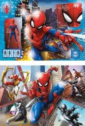 Clementoni 21608 Supercolor Puzzle Marvel Spiderman 2x60
