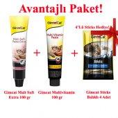 Gimcat Malt Soft 100gr + Multivitamin 100gr +...
