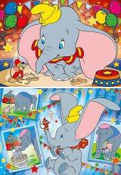 Clementoni 24756 Disney Dumbo 2x20 Parça Çocuk Puzzle